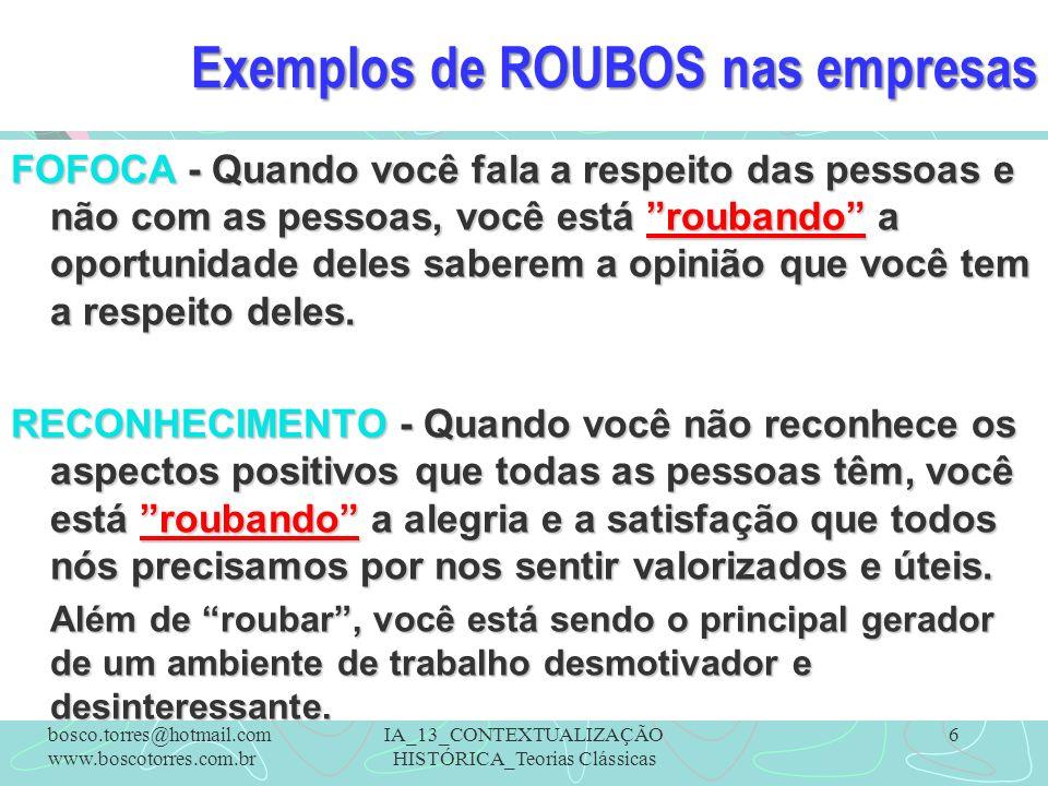 Exemplos de ROUBOS nas empresas FOFOCA - Quando você fala a respeito das pessoas e não com as pessoas, você está roubando a oportunidade deles saberem
