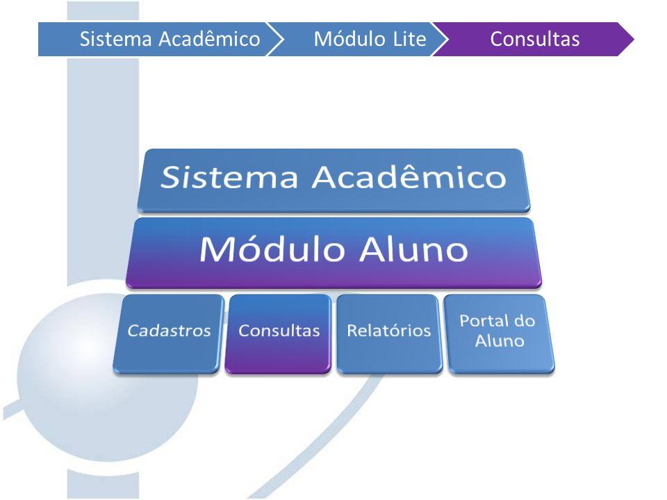 Sistema AcadêmicoMódulo LiteConsultas