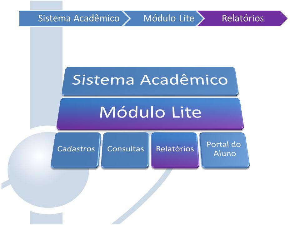 Sistema AcadêmicoMódulo LiteRelatórios