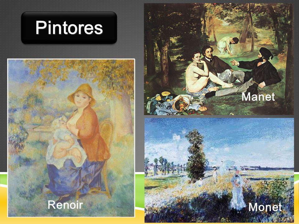 Manet Renoir Monet PintoresPintores