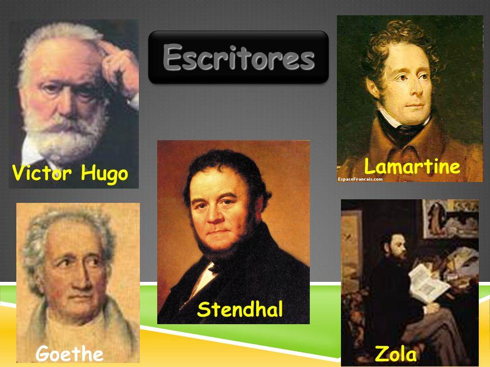Victor Hugo EscritoresEscritores Zola Stendhal Goethe Lamartine