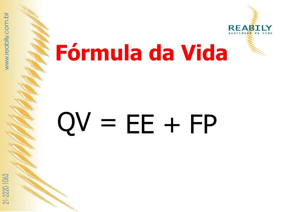 Fórmula da Vida FP QV = EE +