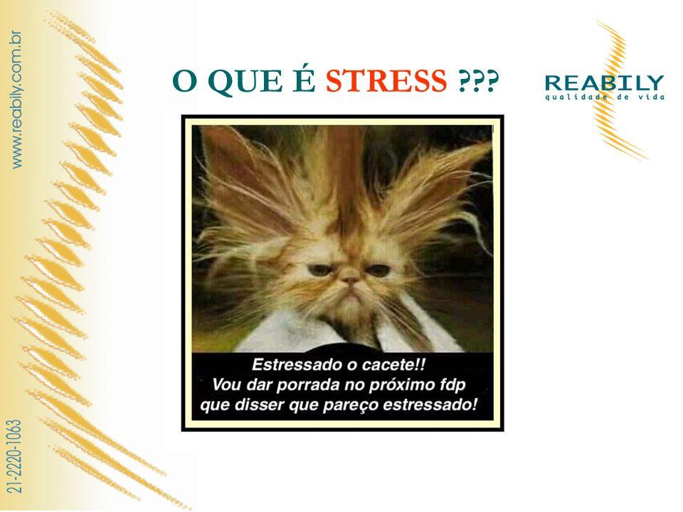 O QUE É STRESS ???