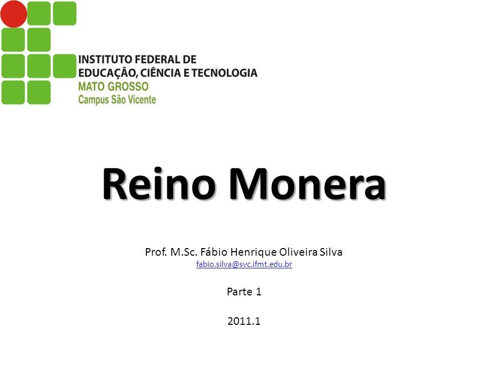 Reino Monera Reino Monera Prof. M.Sc. Fábio Henrique Oliveira Silva fabio.silva@svc.ifmt.edu.br Parte 1 2011.1 fabio.silva@svc.ifmt.edu.br