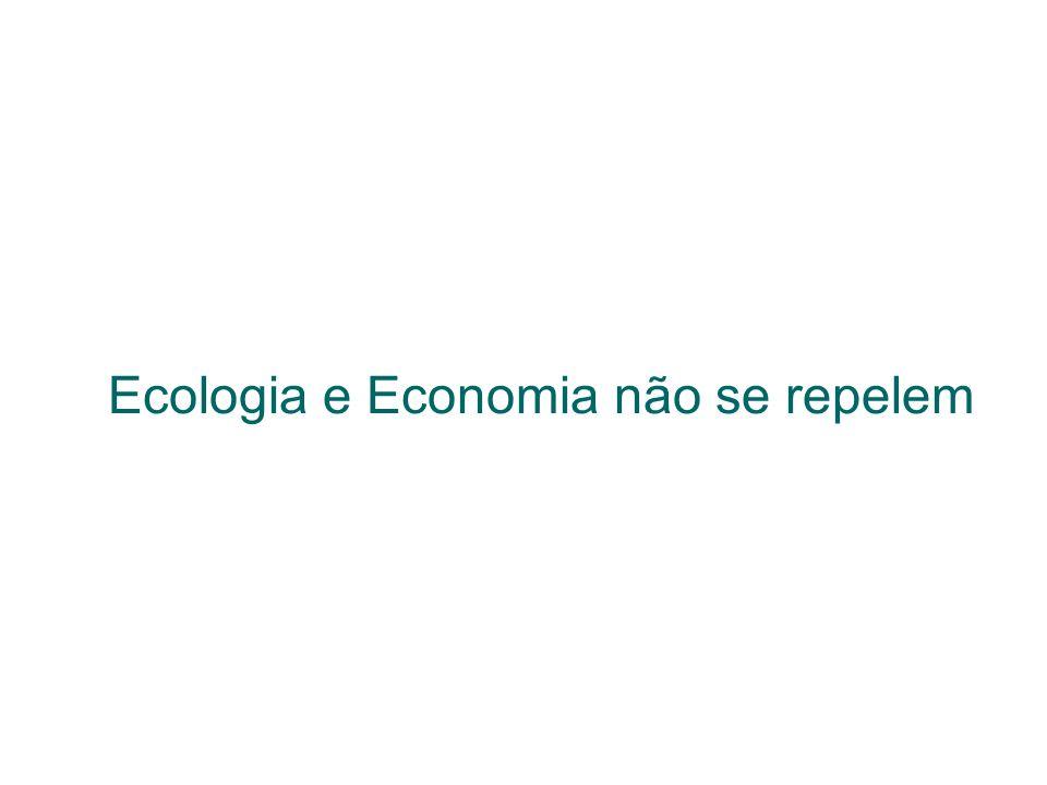 Ecologia e Economia não se repelem