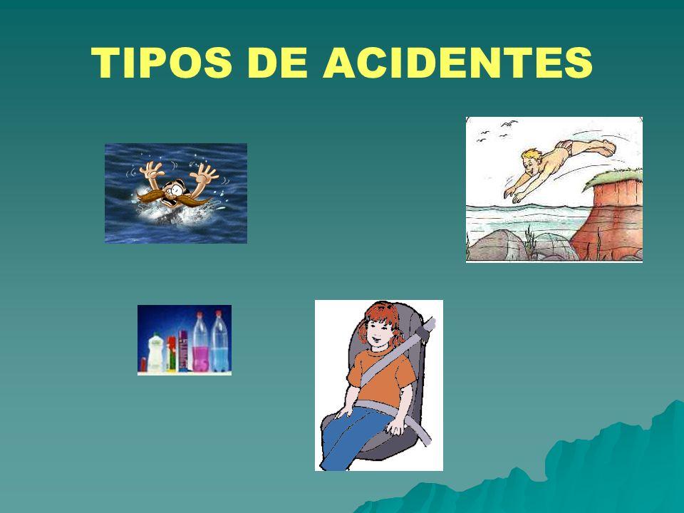 TIPOS DE ACIDENTES