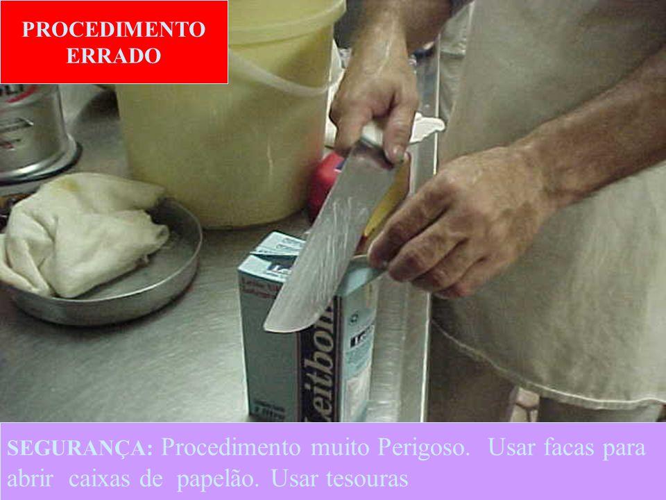 20 PROCEDIMENTO CORRETO SEGURANÇA: Procedimento CORRETO.