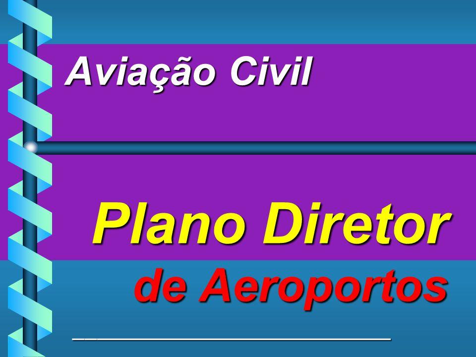 Aviação Civil Plano Diretor de Aeroportos ___________________________