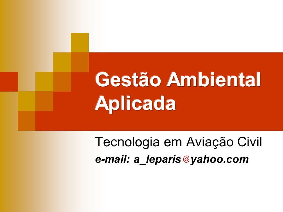 Tecnologia em Aviação Civil e-mail: a_leparis yahoo.com