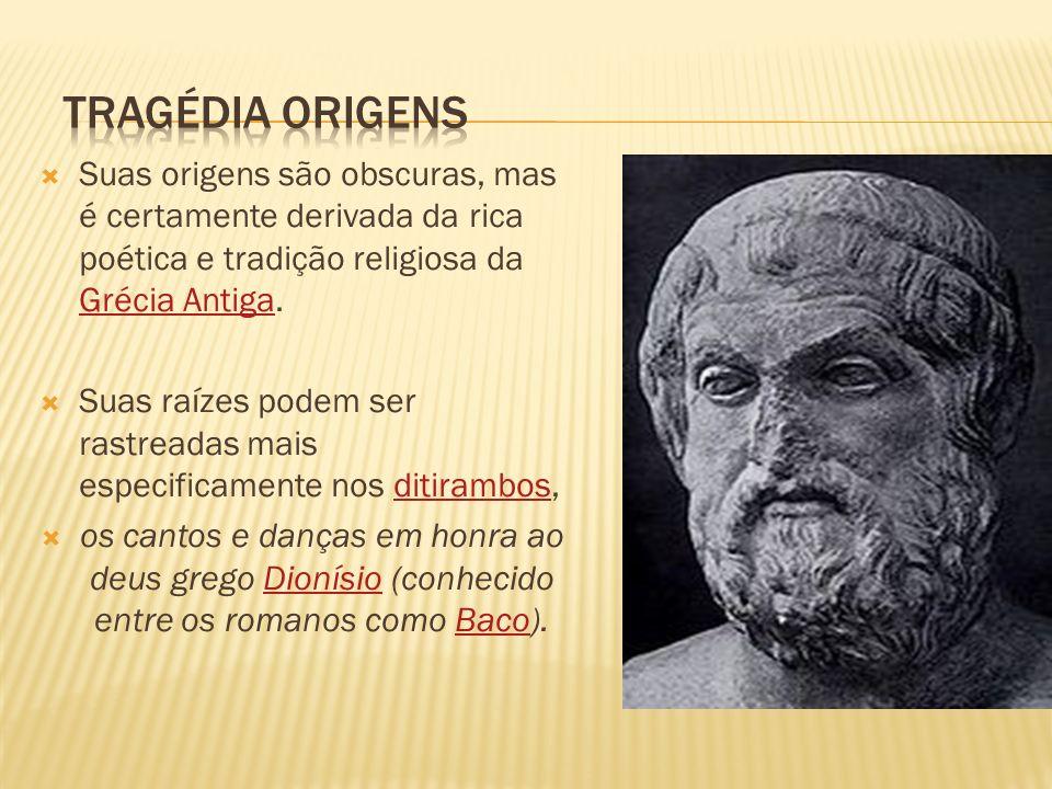 Suas origens são obscuras, mas é certamente derivada da rica poética e tradição religiosa da Grécia Antiga.