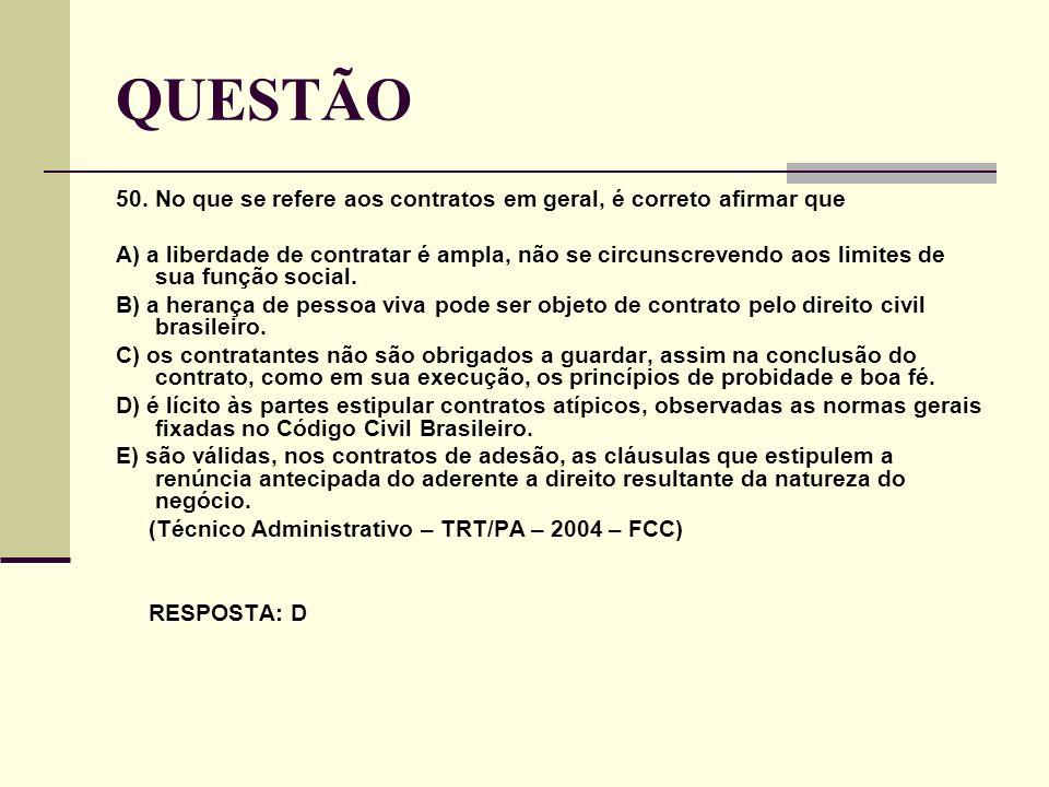 QUESTÃO 50.