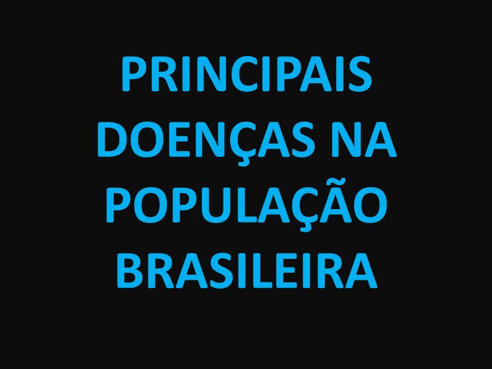 PRINCIPAIS DOENÇAS NA POPULAÇÃO BRASILEIRA