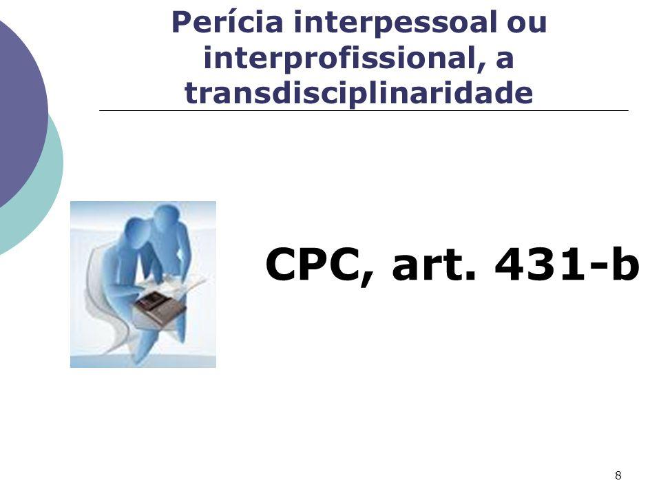 Substituição Pedido do perito Alegação da parte de ausência de conhecimento, CPC art. 424 Não cumprir o prazo, CPC art. 424 7