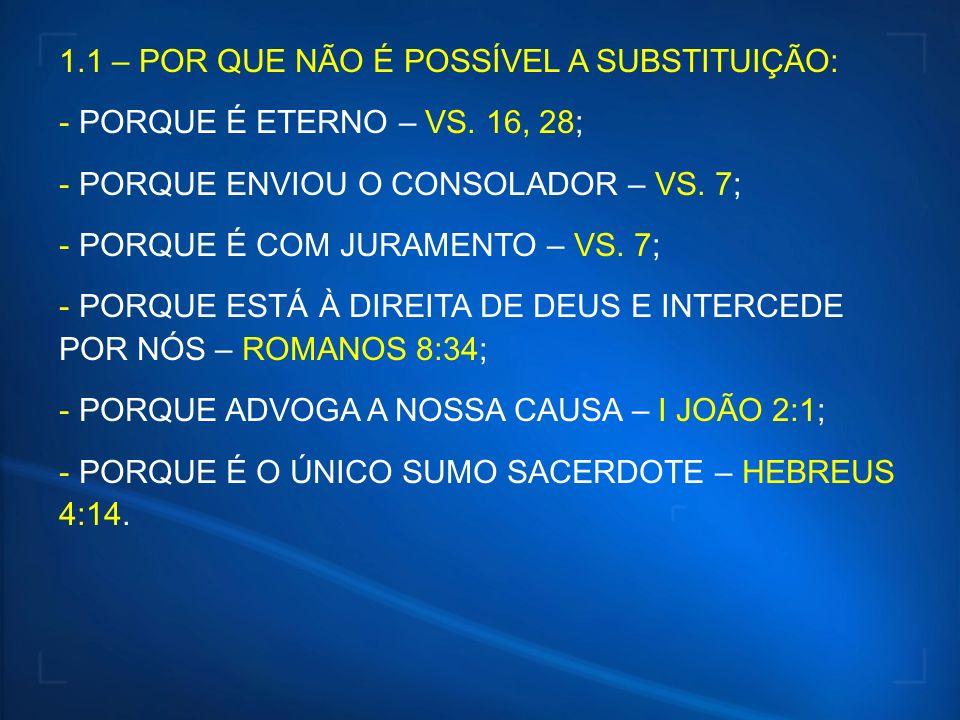 2 – IDENTIFICAÇÃO DO SACERDÓCIO DOS CRENTES:...PEDIREIS EM MEU NOME...