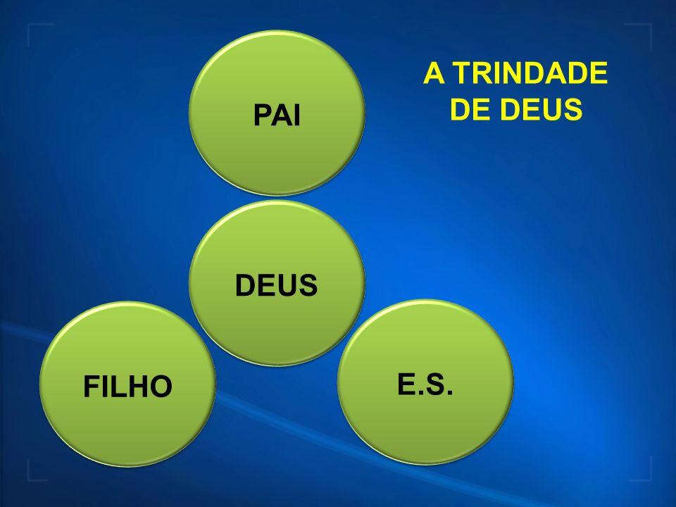 DEUSPAIFILHOE.S. A TRINDADE DE DEUS