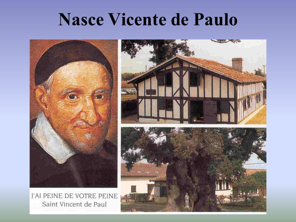 Nasce Vicente de Paulo