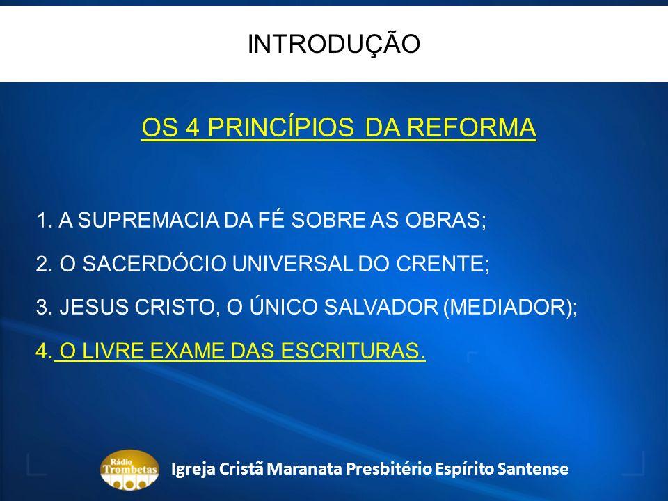 PERÍODO DA DESCOBERTA DO TESOURO (SARDES) 200 ANOS ISAÍAS 11:2 Igreja Cristã Maranata Presbitério Espírito Santense