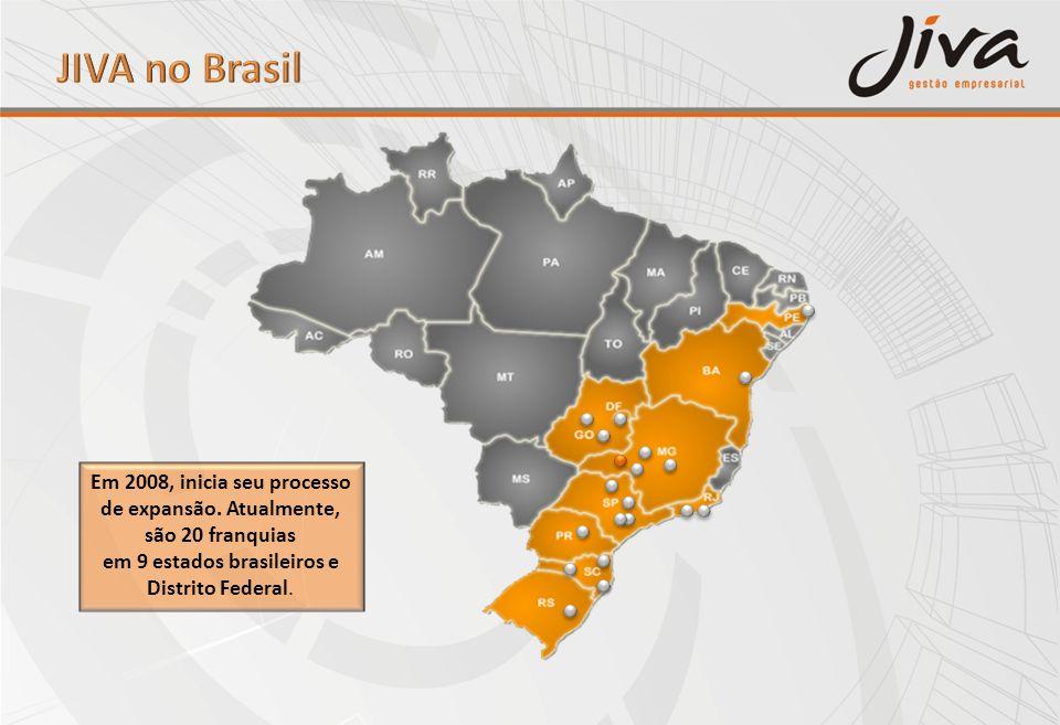 Em 2008, inicia seu processo de expansão. Atualmente, são 20 franquias em 9 estados brasileiros e Distrito Federal.