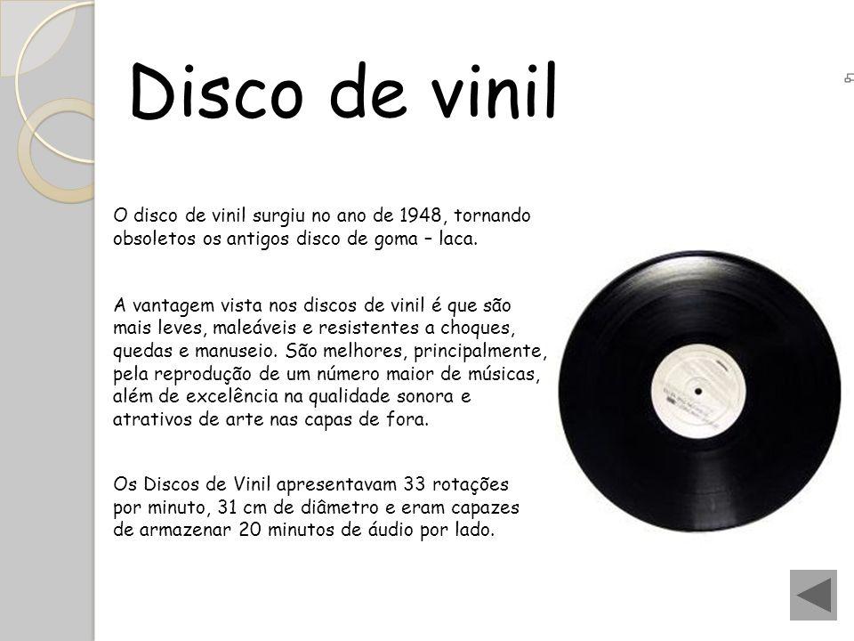 Anos 80 Na década de 80 os discos de vinil atingiram o auge, principalmente com o disco Thriller de Michael Jackson, que até hoje é o disco mais vendido no mundo (25 milhões de discos vendidos).