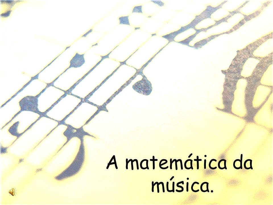 A matemática da música.