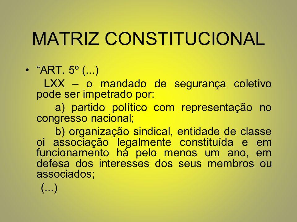 MATRIZ CONSTITUCIONAL ART.
