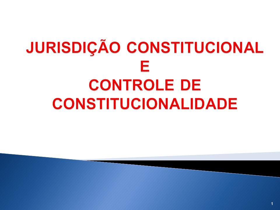 1)Ensina Tavares (2008) O controle da constitucionalidade pode ser concreto, subjetivo, quando do exercício durante determinado processo jurisdicional, desde que se pretenda, com ele a resolução de algum ponto de Direito para a solução de uma controvérsia intersubjetiva.