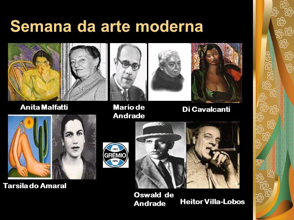 Foram publicados no pais manifestos e revistas que divulgaram o movimento modernista.
