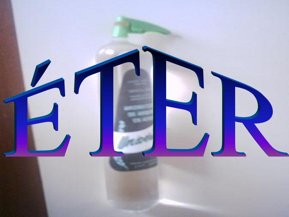 Representação: Metoxi-terciobutano (antidetonante da gasolina) Éter etílico ou comum ( anestésico )