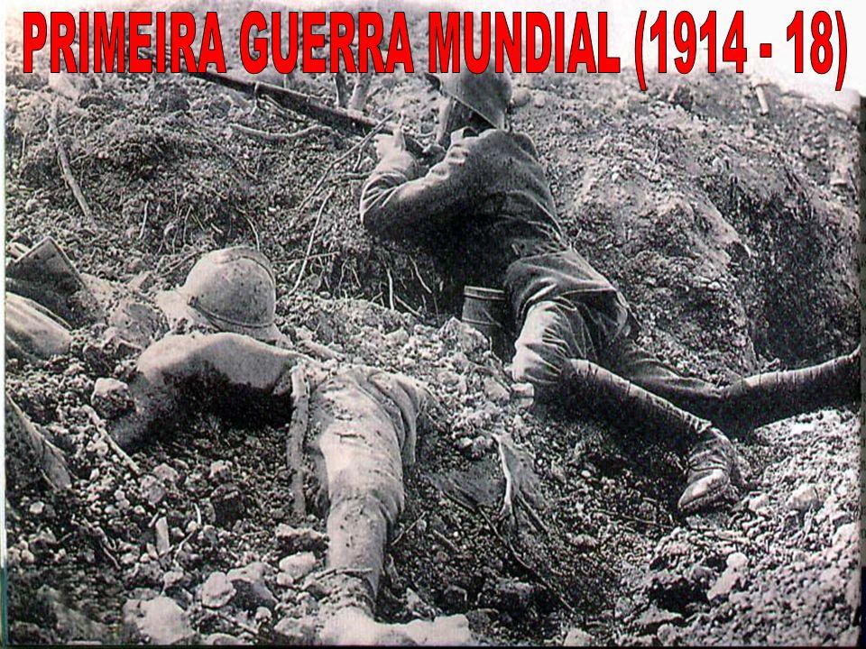1.Fatores que contribuíram para a eclosão do conflito: 1.1. Imperialismo Inglaterra X Alemanha