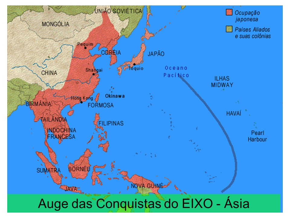 Auge das Conquistas do EIXO - Europa