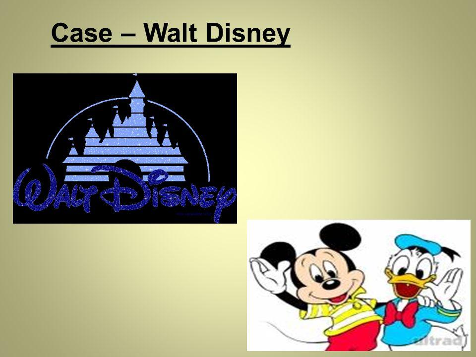 Case – Walt Disney
