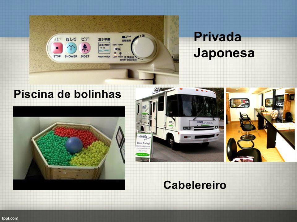 Cabe Privada Japonesa Piscina de bolinhas Cabelereiro