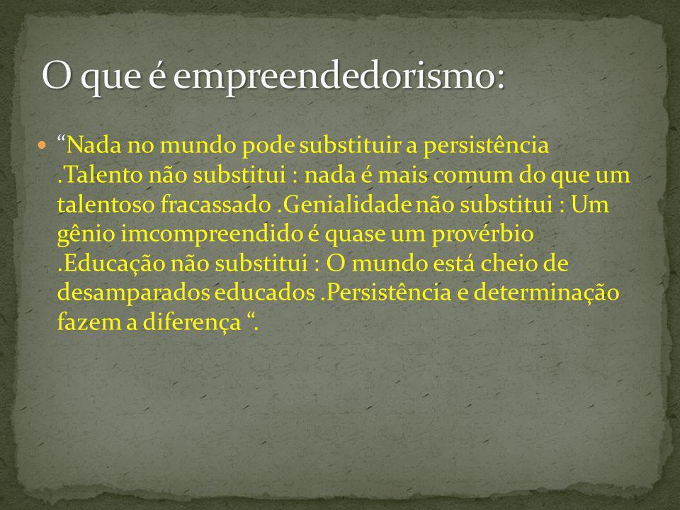 O empreendedorismo é um processo pelo qual as pessoas perseguem oportunidades, usam recursos e iniciam mudanças para criar valor