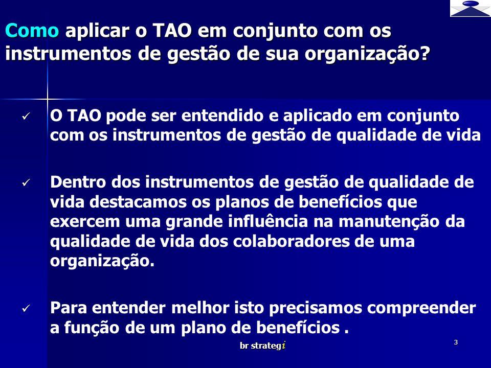 br strateg i 3 O TAO pode ser entendido e aplicado em conjunto com os instrumentos de gestão de qualidade de vida Dentro dos instrumentos de gestão de