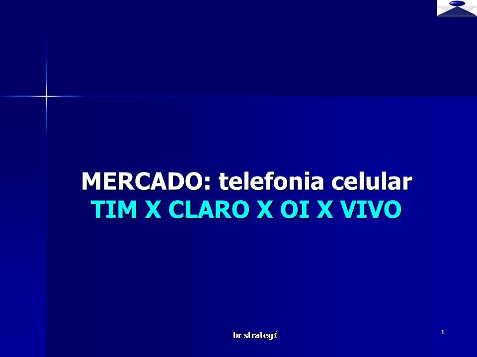 br strateg i 1 MERCADO: telefonia celular TIM X CLARO X OI X VIVO