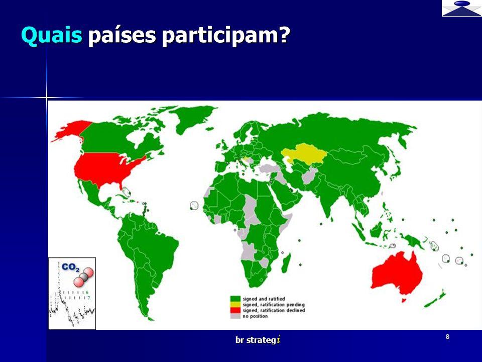 br strateg i 8 Quais países participam? Br strategi Brief strategy