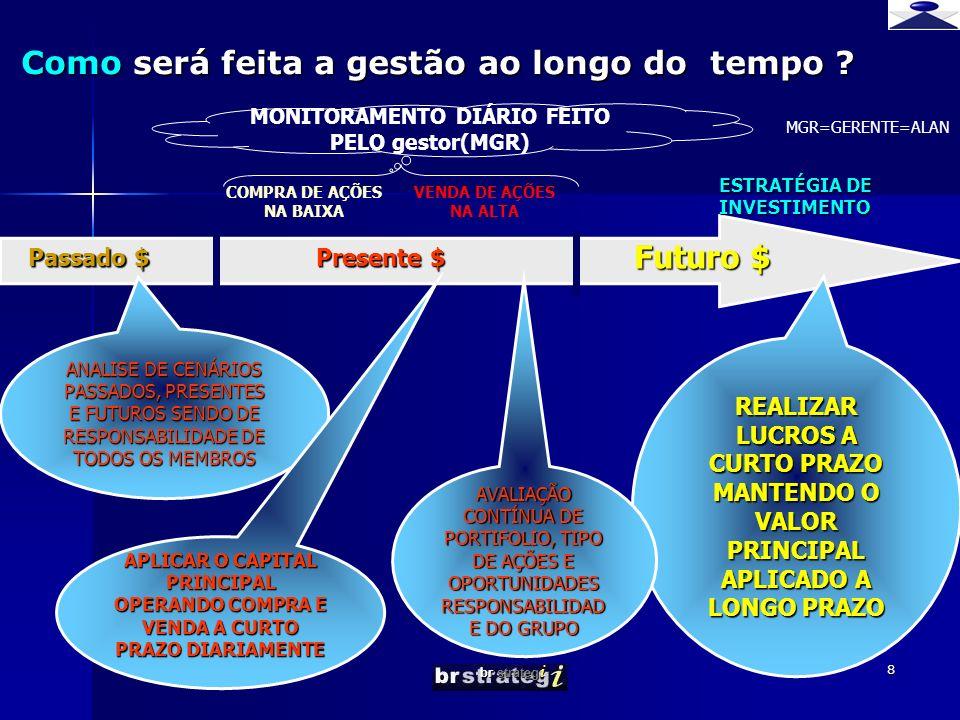 br strateg i 8 Como será feita a gestão ao longo do tempo .