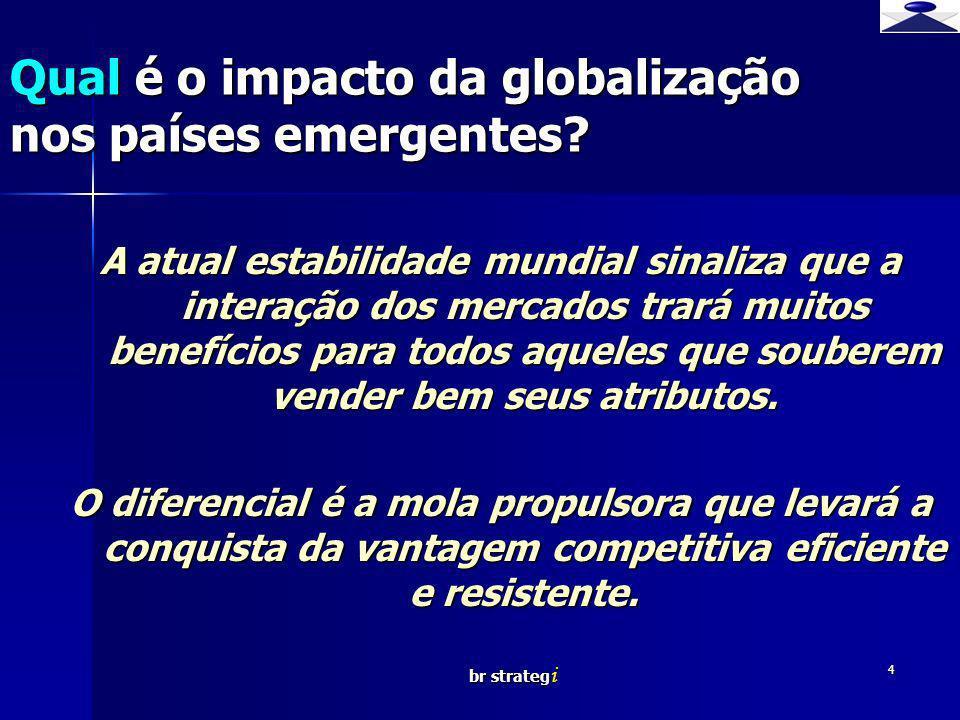 br strateg i 4 A atual estabilidade mundial sinaliza que a interação dos mercados trará muitos benefícios para todos aqueles que souberem vender bem s
