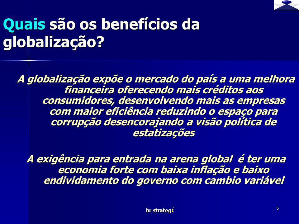 br strateg i 16 Qual é o cenário atual no Brasil para os transgênicos.