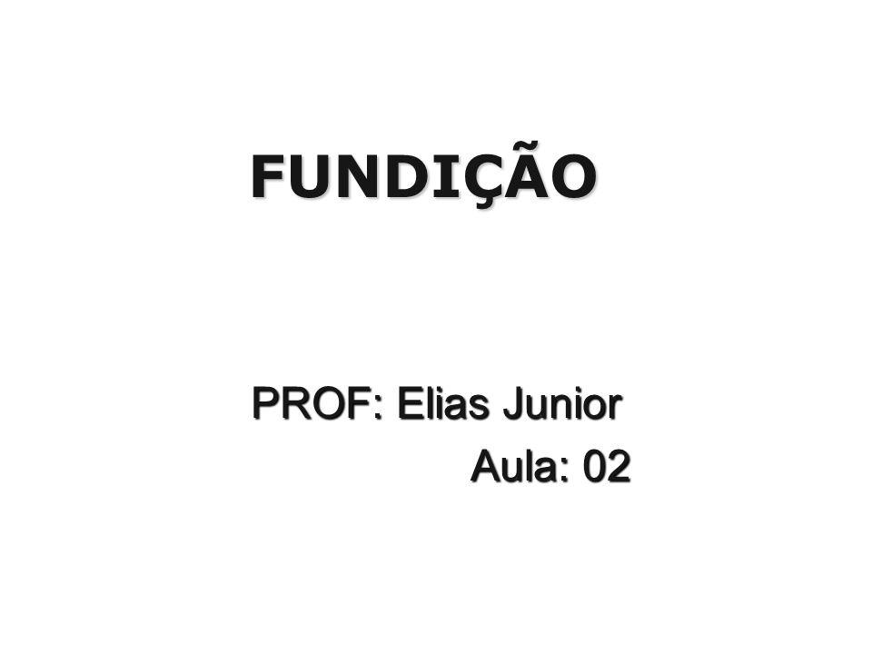 FUNDIÇÃO PROF: Elias Junior Aula: 02 Aula: 02