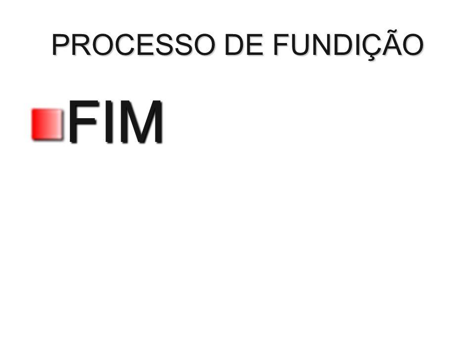 PROCESSO DE FUNDIÇÃO FIM