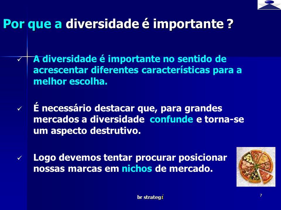 br strateg i 7 A diversidade é importante no sentido de acrescentar diferentes características para a melhor escolha. É necessário destacar que, para