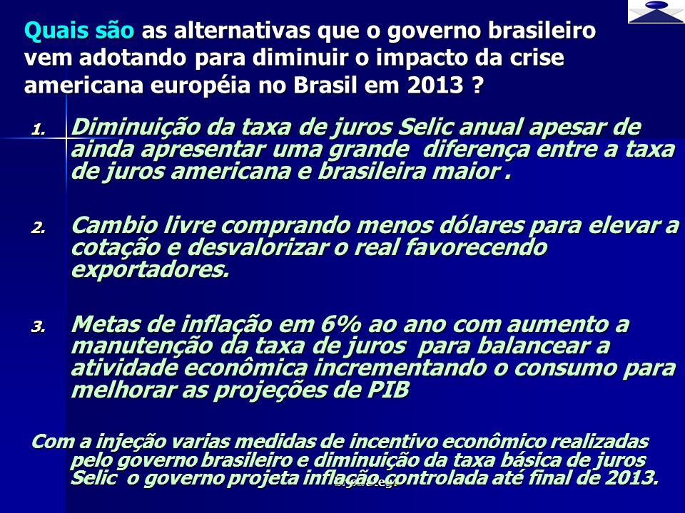 br strateg i 4 1. Diminuição da taxa de juros Selic anual apesar de ainda apresentar uma grande diferença entre a taxa de juros americana e brasileira