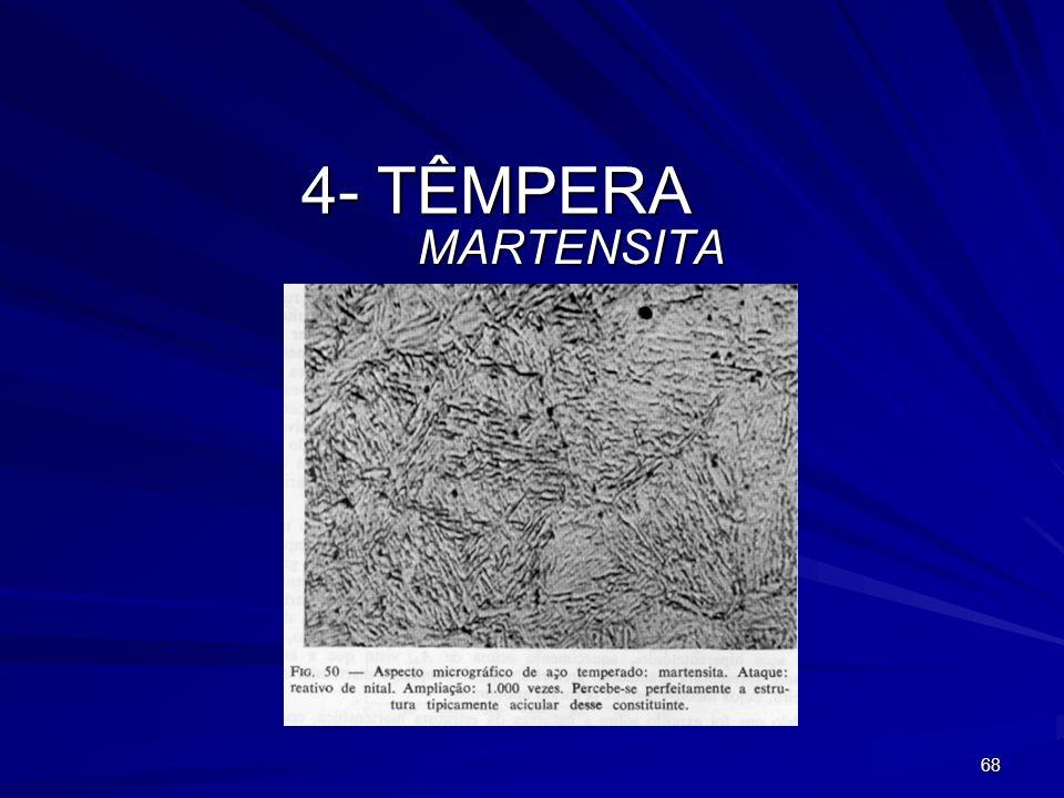 68 4- TÊMPERA MARTENSITA