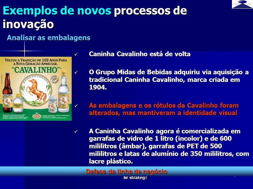 br strateg i 7 Caninha Cavalinho está de volta Caninha Cavalinho está de volta O Grupo Midas de Bebidas adquiriu via aquisição a tradicional Caninha C