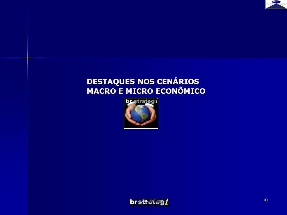 br strateg i 10 DESTAQUES NOS CENÁRIOS MACRO E MICRO ECONÔMICO