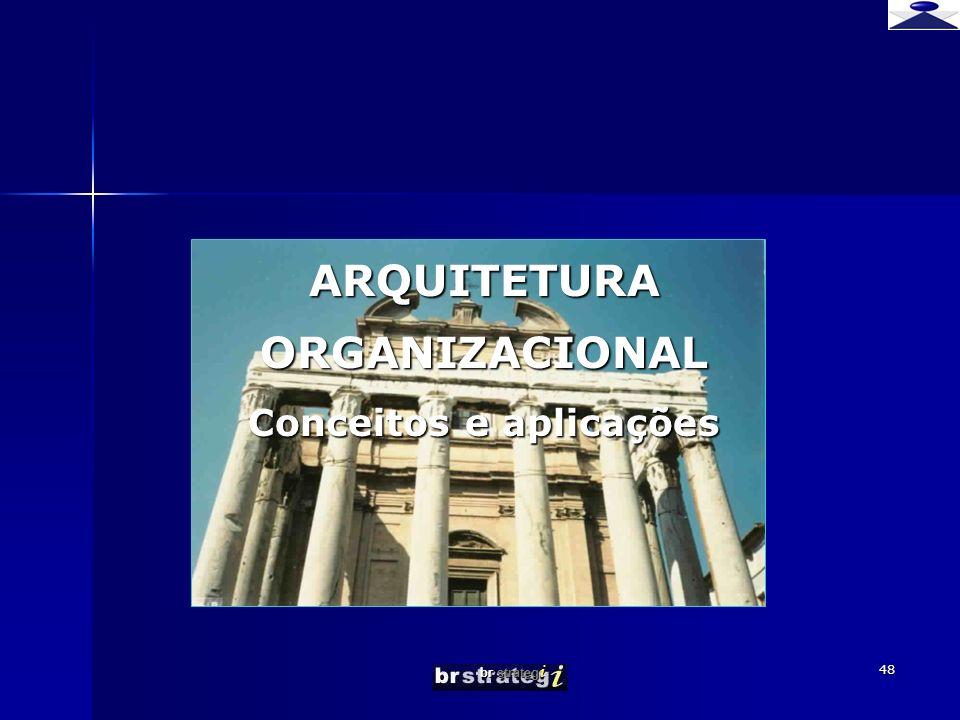 br strateg i 48 ARQUITETURA ORGANIZACIONAL Conceitos e aplicações