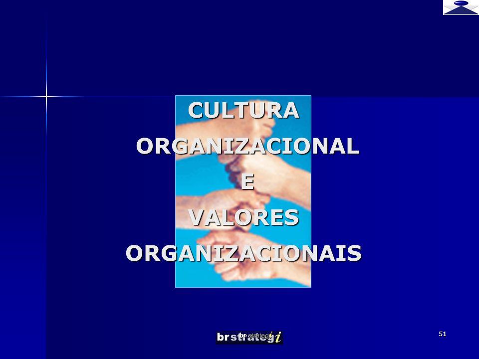 br strateg i 51 CULTURA ORGANIZACIONAL E VALORES ORGANIZACIONAIS