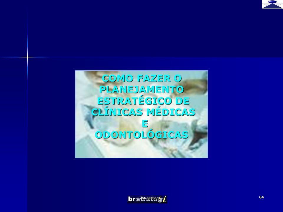 br strateg i 64 COMO FAZER O PLANEJAMENTO ESTRATÉGICO DE ESTRATÉGICO DE CLÍNICAS MÉDICAS CLÍNICAS MÉDICAS EODONTOLÓGICAS