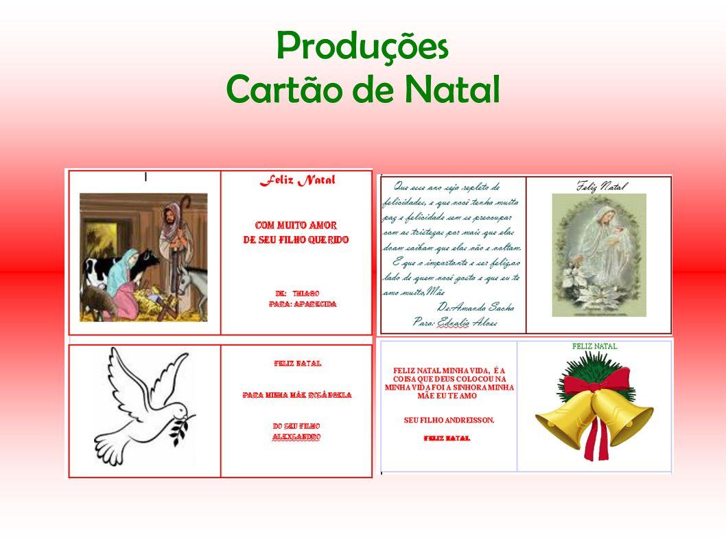Produções Cartão de Natal